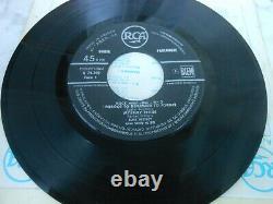ELVIS PRESLEY RARE! EP FRANCAIS ORIGINAL ROCK N ROLL N°2 DILLARD & Cie BON ETAT