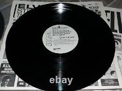 ELVIS PRESLEY- RARE MADISON SQUARE GARDEN PROMO 2 LP SET WithTIMING, SONG STICKERS