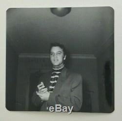 ELVIS PRESLEY RARE VINTAGE ORIGINAL kodak PHOTO SHREVEPORT LA 1956 STAMPED NELDA