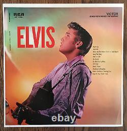 ELVIS PRESLEY Rare Unused Original Factory Album Slick RCA VICTOR #LSP-1382e