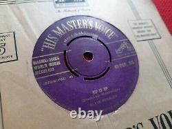 ELVIS PRESLEY Rip It Up / Baby, Lets Play House7 PURPLE/GOLD Label HMV RARE
