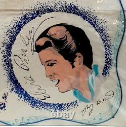 ELVIS PRESLEY SCARF 1956 E. P. E. Original Vintage Concert Fan Scart Utra RARE Ex