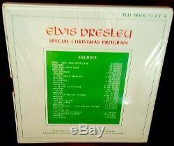 ELVIS PRESLEY SPECIAL CHRISTMAS PROGRAM Reel To Reel FullTrack 7.5ips M SS RARE