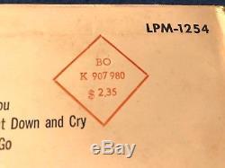 ELVIS PRESLEY S/T debut LP LPM-1254'56 RARE German Press PINK GREEN clean