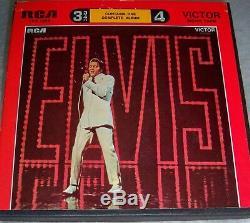 ELVIS PRESLEY TV SPECIAL SPECIAL Reel To Reel 3 3/4 ips 4TRACK MONO EX Rare OOP