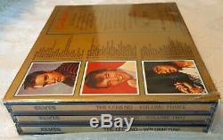 ELVIS PRESLEY The LEGEND 1st Edition Gold 3 CD Box set #2812 withShrink RARE OOP