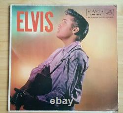 ELVIS PRESLEY USA RCA VICTOR LPM 1382 VG+/EX Vinyl LP 1956 19s Alt Old Shep Rare