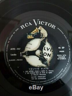 ELVIS PRESLEY Volvio ELVIS RARE URUGUAY PS EP 7 45
