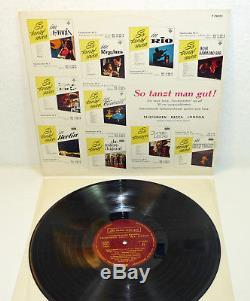 ELVIS PRESLEY u. A. So tanzt man gut rare 1961 PROMO ONLY VA LP Teldec 60s