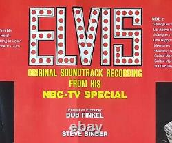 ELVIS Rare Original Factory Album Slick / 68 Comeback / RCA / Steve Binder