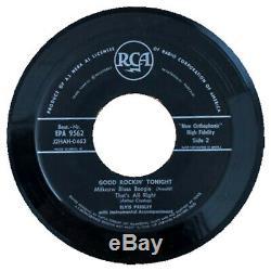 EP 1958 Elvis Presley GOOD ROCKIN´ TONIGHT Export RARE NORWAY RCA EPA 9562 EX