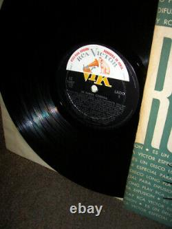 Elvis ARGENTINA ONLY Rare DE FARRA CORRIDA 1958 PROMO LP PROMO COVER Rock'n'Roll