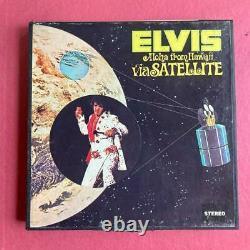 Elvis Aloha from Hawaii via Satellite RCA RCAEPPB 6 7.5 IPS Reel Tested Rare