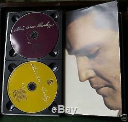 Elvis Aron Presley 25 Anniversary Silver Box -1998 4 CDs NEW SEALED Rare OOP