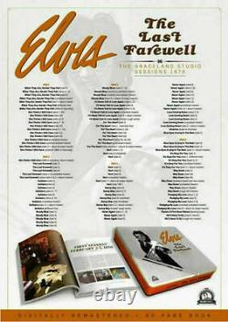 Elvis Collectors Boxset The Last Farewell Graceland Jungle Room Sessions rare