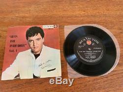 Elvis For Everybody Vol 1- Massively Rare New Zealand Ep- Elvis Presley Original