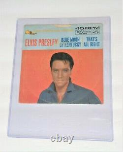 Elvis Gold Standard Series That's All Right, Blue Moon of Kent Sleeve ONLY RARE