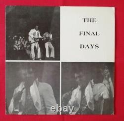 Elvis Mega Rare Import 2 LP Set The Final Days June 26, 1977 USA