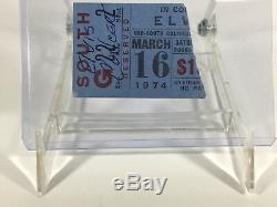 Elvis Memphis March 1974 Mid South Coliseum Ticket Stub RARE