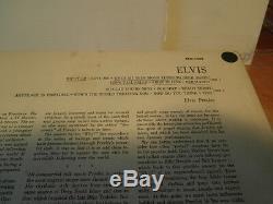 Elvis PresleyElvislp12or. Usa. 1956.1. Ère press-rca lpm1382 very rare