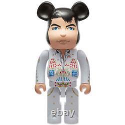 Elvis Presley 1000% Bearbrick King Of Rock N Roll Medicom Be@rbrick 2020 Rare US