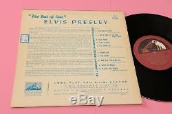 Elvis Presley 10 Best Of Orig Uk 1957 Ex! Tooopppp Rare Collector