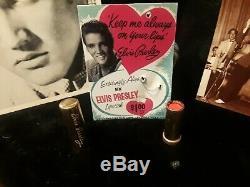 Elvis Presley 1956 Lipstick Teenager Love Ya Fuschia 1950s Rare