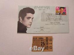 Elvis Presley-1956 November RARE Concert Ticket Stub (Louisville KY)