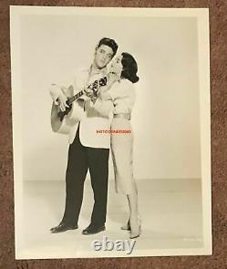 Elvis Presley 1957 Jailhouse Rock Vertical 8x10 Photo With Judy Tyler Very Rare