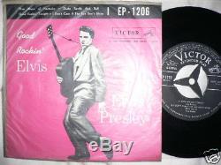 Elvis Presley 1957 Japan EP Good Rockin' EP-1206 RARE
