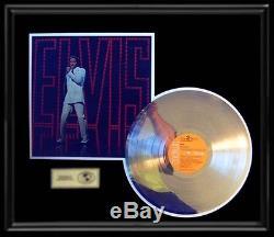 Elvis Presley 1968 Nbc Tv Comeback Gold Record Platinum Disc Rare Lp Frame