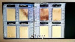 Elvis Presley 22kt Karat Gold 60 Card Danbury Mint Collection Set withBinder RARE