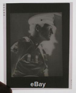 Elvis Presley 2 3/4 x 3 1/2 Original Negative Army With Photo 1958 RARE