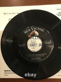 Elvis Presley 45 ep King Creole with super rare photo