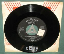 Elvis Presley 47-6870 All Shook Up 45 US Army Military German With K Sleeve RARE