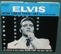Elvis Presley 74-0130 His Hand In Mine / How Great Thou Art 45 Sleeve ONLY RARE
