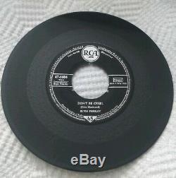 Elvis Presley 7 45 German Rare 1st Pressing 47-6604 Hound Dog Don't be