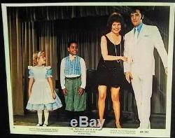 Elvis Presley 8 Original Color Movie Lobby Cards Set 1969 Rare Collectible Lot