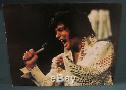 Elvis Presley Aloha Display 1973 16x20 Roadshow Merchandise Inc Colonels RARE