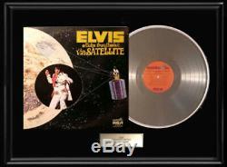 Elvis Presley Aloha From Hawaii Album Framed Lp Vinyl Record Display Rare