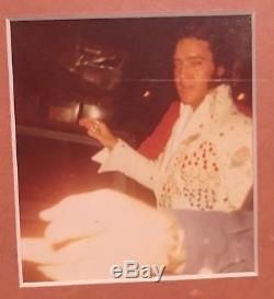Elvis Presley Aloha From Hawaii Concert Ticket, Photo, and TV Program RARE