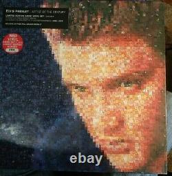 Elvis Presley Artist Of The Century Limited Edition 5 LP Red Vinyl Set RARE