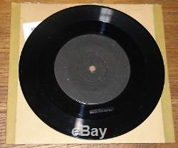 Elvis Presley Blue Suede Shoes Very Rare Uk Rca 1-sided Demo 7 1956