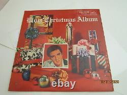 Elvis Presley Christmas Album Rca Victor Japan Deep Groove Ra 5135 Mono Lp Rare