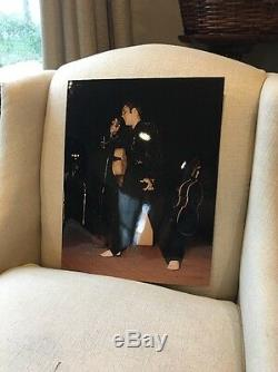 Elvis Presley Concert Photo From Original Negative By Terry Wood RARE