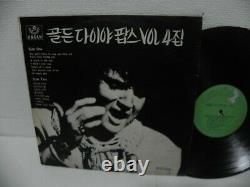Elvis Presley Cover Golden Dia Pops Vol. 4 1971 Rare KOREA Old Vinyl LP V/A