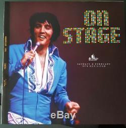 Elvis Presley ELVIS ON STAGE REVISITED 4 LP Box set rare vinyl
