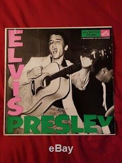 Elvis Presley ELVIS PRESLEY LPM-1254 LPM-1254 RARE P. D. Label VG-/VG+