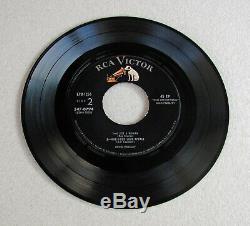 Elvis Presley EPB-1254 RARE Label Variation 2 Record EP Set 547-0793 / 547-0794