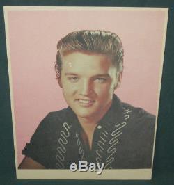 Elvis Presley EPE 8 1/2 x 11 Glow In The Dark Photo 1957 RARE Prototype